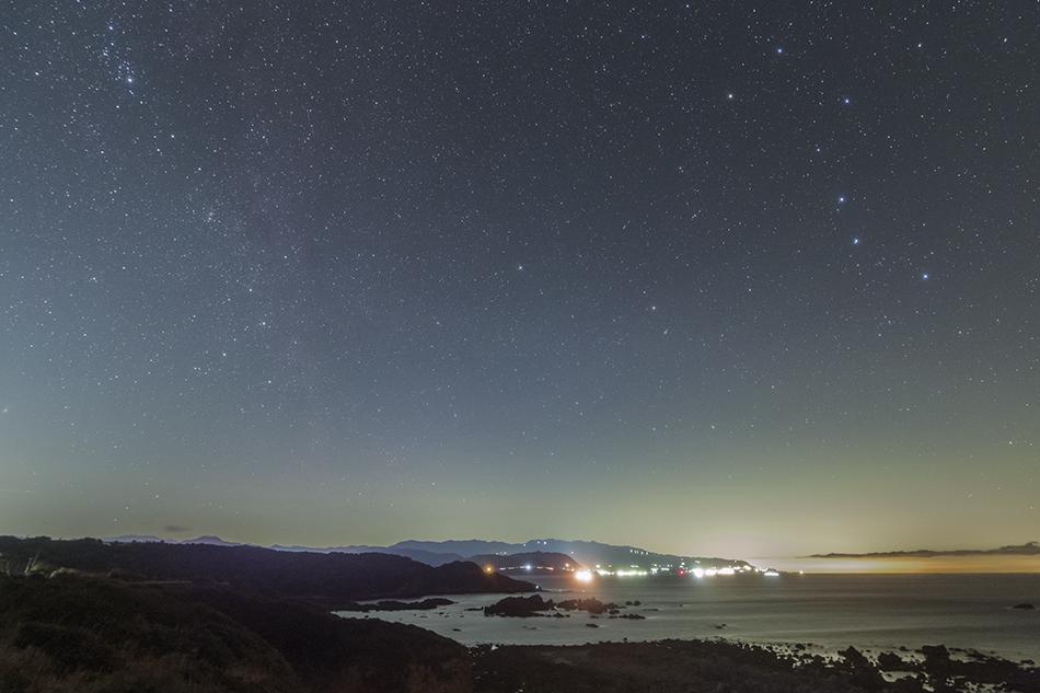 爪木崎からの北天の星たち