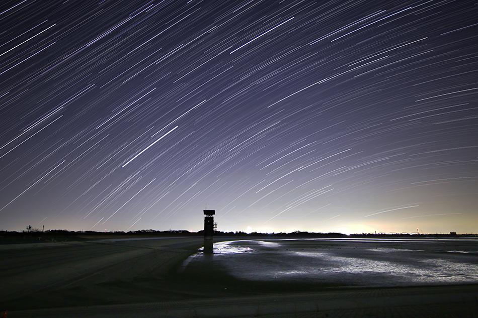 渡良瀬遊水地昇る春〜夏の星々