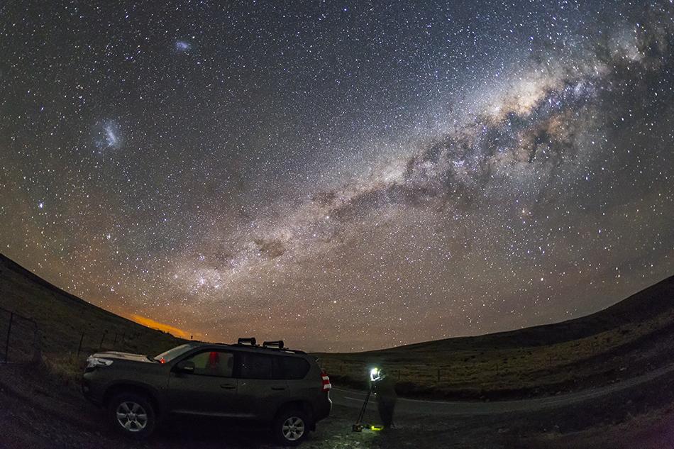 南半球の星空を撮る