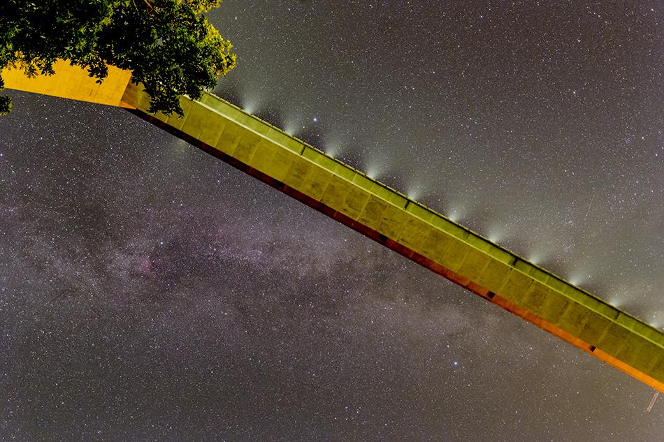 雷電廿六木橋と夏の大三角