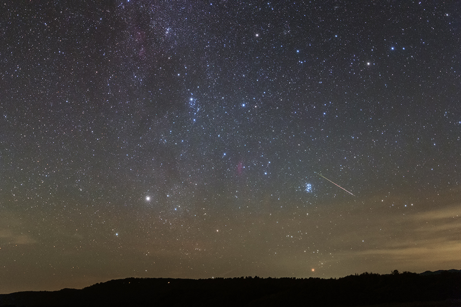 ペルセウス座とペルセウス座流星群