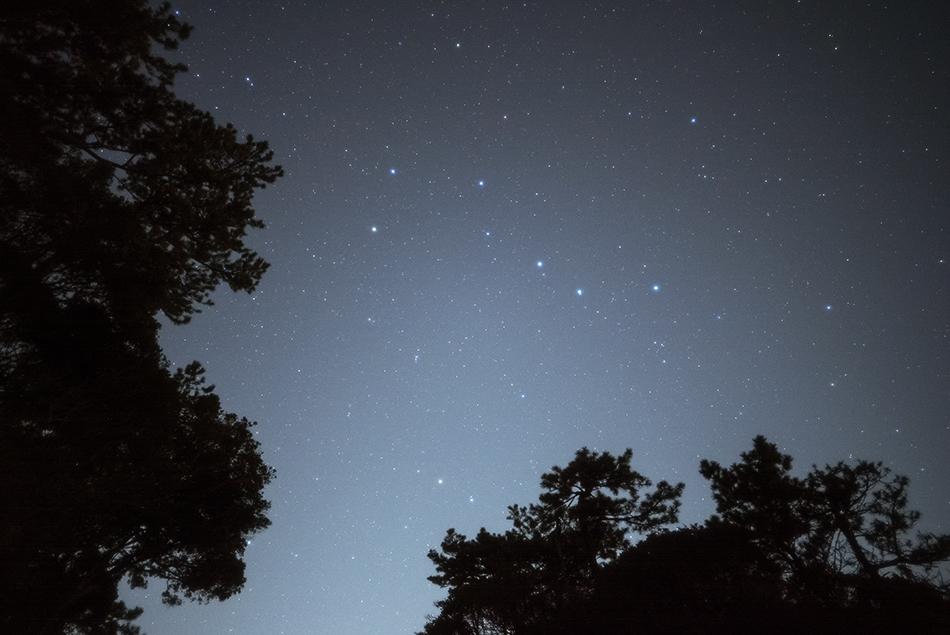 三浦半島の北斗七星