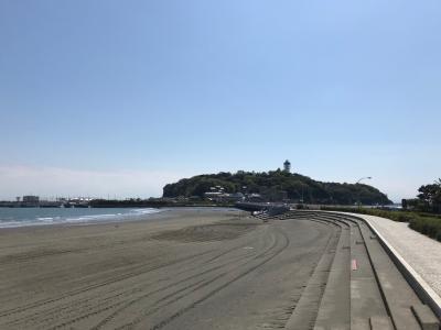 江ノ島 トンボロ現象