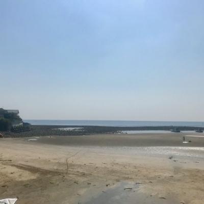 和賀江島 トンボロ