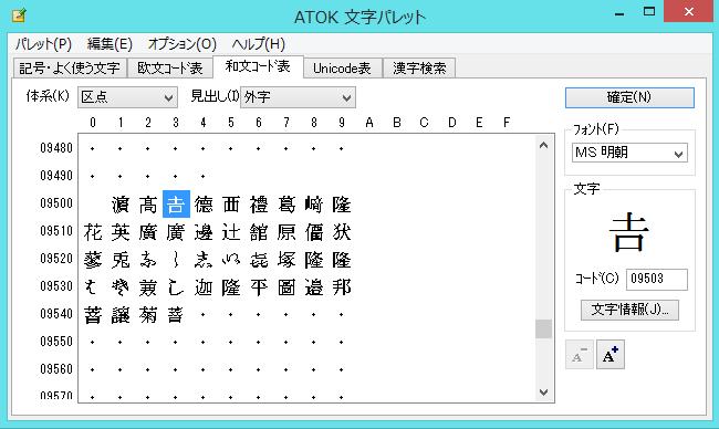 外字 法務省 「IPAmj明朝フォント」戸籍統一文字などに含まれる6万字の漢字を収録したフォント
