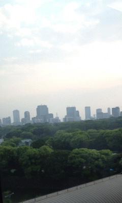 日本経済新聞社からの眺め