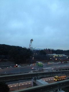 太陽の塔クリスマス2.JPG