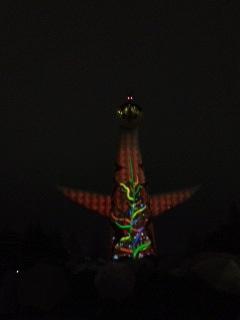 太陽の塔クリスマス10.JPG