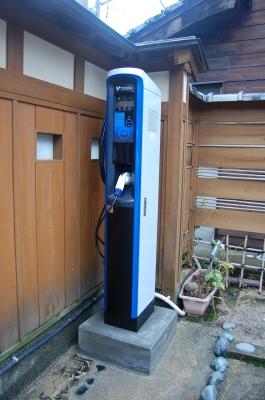 電気自動車 充電機