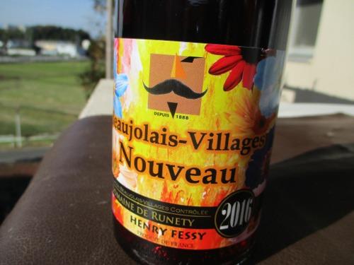HENRY FESSY DOMAINE DE RUNETY Beaujolais-Villages nouveau 2016