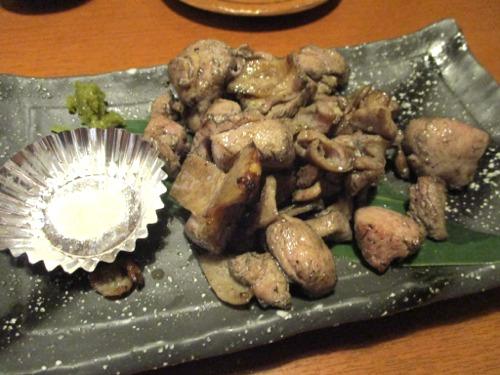 日本酒と魚の居酒屋 魚枡(うおます) さつま知覧鶏 炭焼き