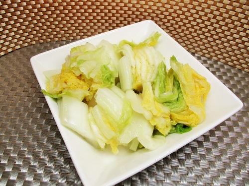 白菜漬 振り塩製法 ロピアで購入。