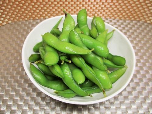 塩茹で枝豆 台湾産 イオンで購入。