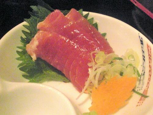 2009年5月29日(金) ロテンガーデン お造り御膳