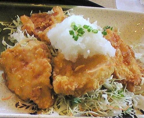 2009年10月20日(火) 鶏天おろし和膳@ガスト平塚海岸店