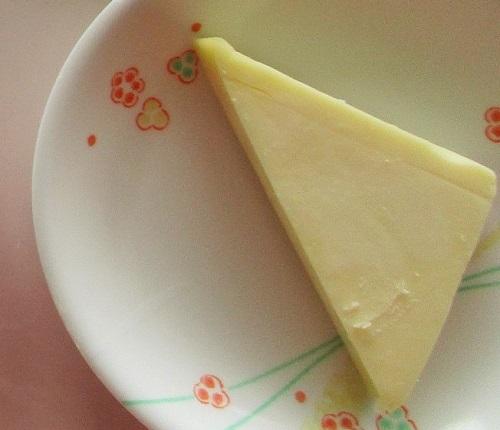チーズも1かけ出ました。