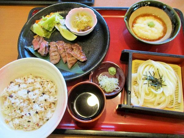 牛たん民芸定食[1598円(税込)]