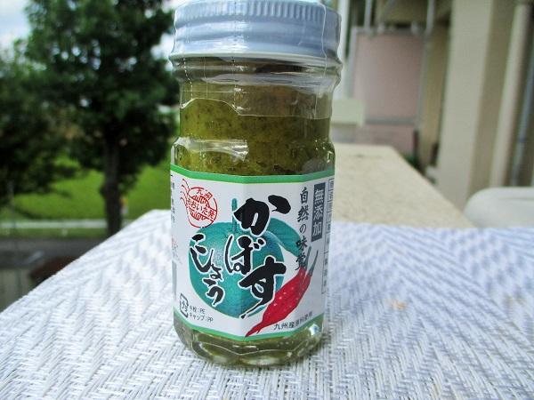 大分千歳村 かぼすこしょう 無添加 自然の味覚 60g/368円(税込) いなげやで購入。