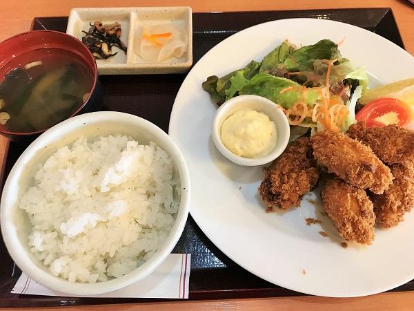広島産大粒カキフライ(税込1,166円)+ご飯セット(税込346円)