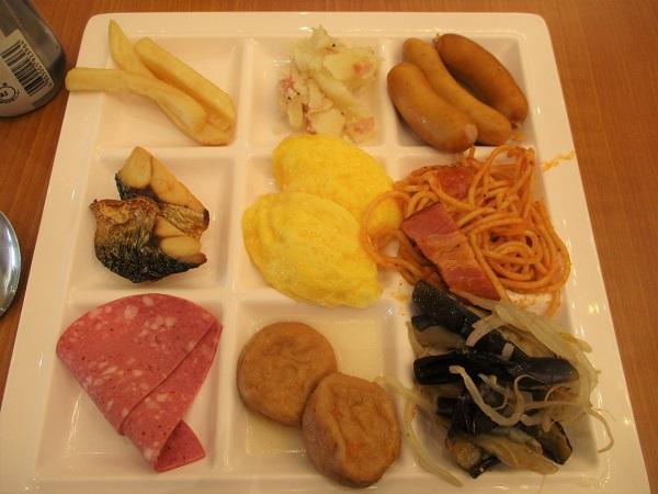 2019年10月8日(火)伊東園ホテル松川館 朝食