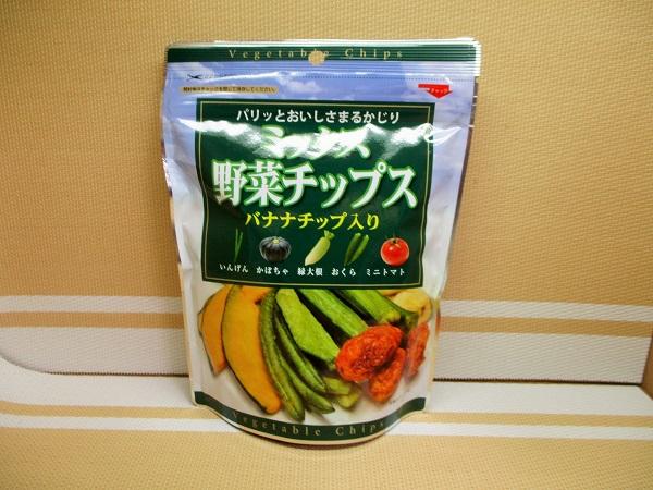 ミックス野菜チップス バナナチップ入り OKで購入。