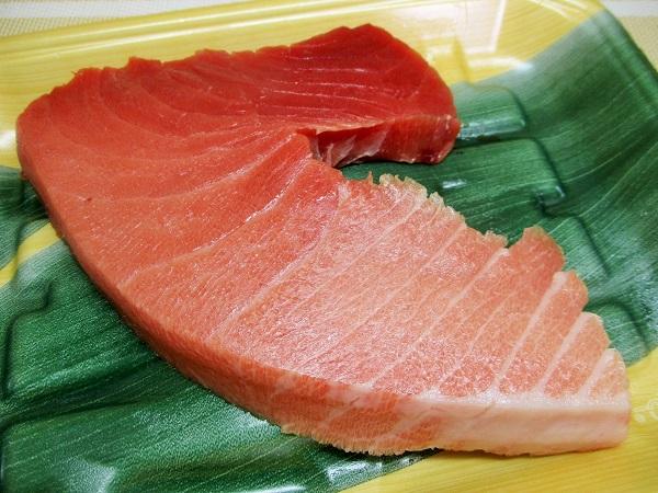 ロピア 魚萬名物 生本鮪ブーメラン 養殖生まぐろ(奄美大島産)