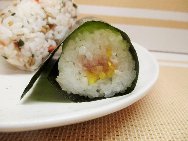 ファミマ 手巻寿司 まぐろたくあん 158円(税込)