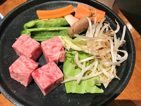 ブリーズベイ修善寺ホテル 夕食