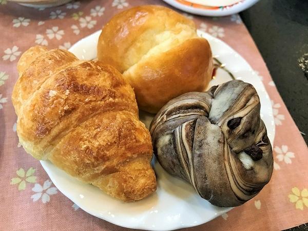 富士河口湖温泉 ホテルニューセンチュリーにて朝食
