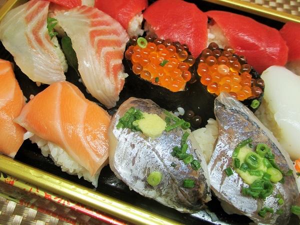 ロピア 魚萬握り 葵(18貫) 1,717円(税込)