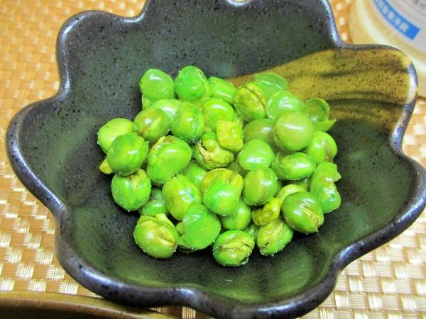 青えんどうの風味を生かしたグリーンピース