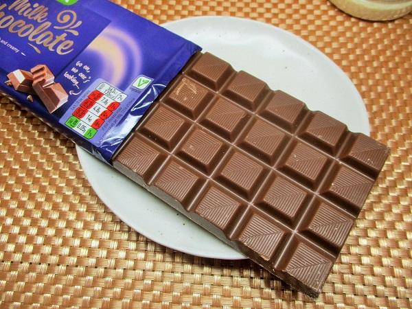 2020年4月18日(土)ASDA(アズダ) ミルクチョコレート 原産国ドイツ 200g