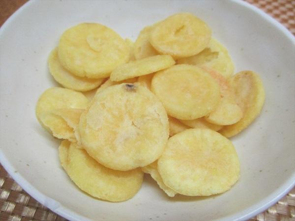 カルビー ポテトデラックス マイルドソルト味 金貨のようなポテトチップス