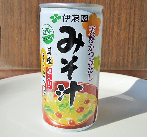 2010年12月12日(日)伊藤園 みそ汁