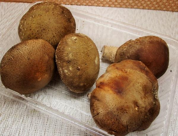 福島県産 生しいたけ(菌床栽培) ロピアで購入。