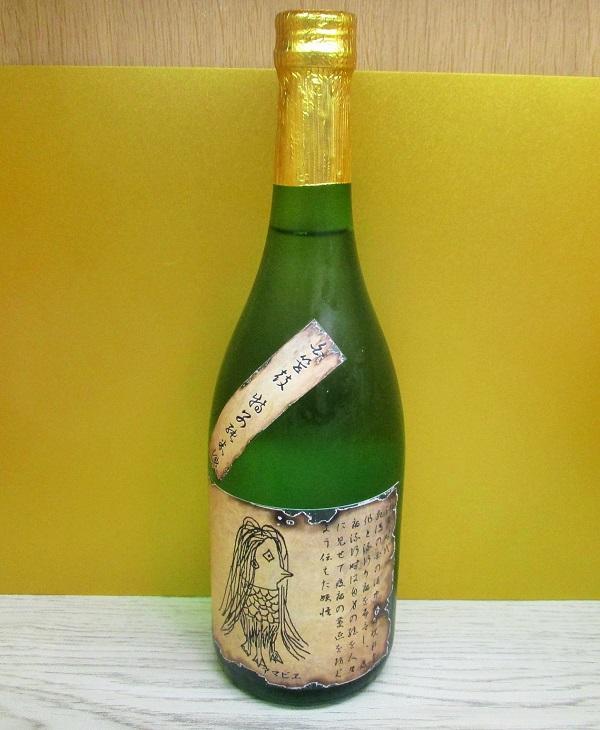 金井酒造 白笹鼓 特別純米酒 アマビエラベル
