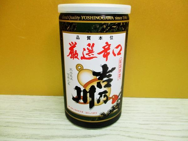 厳選辛口 吉乃川 180ml