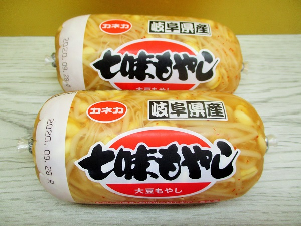 カネカ 岐阜県産 七味もやし 大豆もやし 310g(固形量195g)/182円(税込)