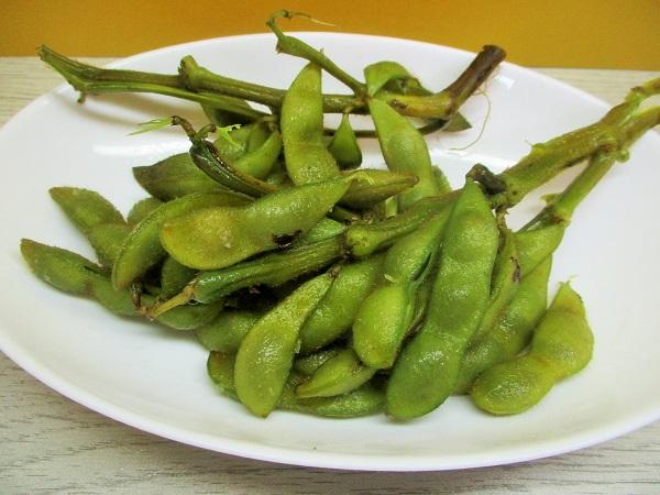 京野菜 洛市 枝付き黒枝豆