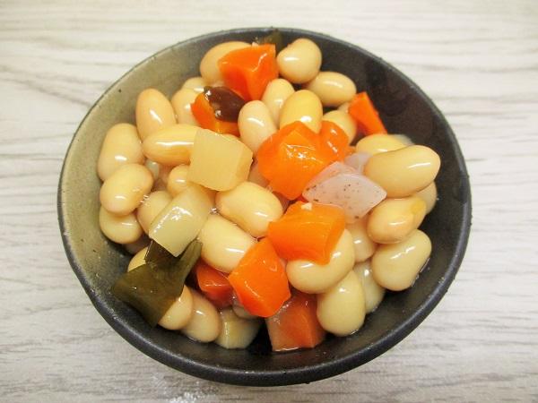 フジッコ おまめさん 甘さをひかえたやさい豆 だし味仕立て