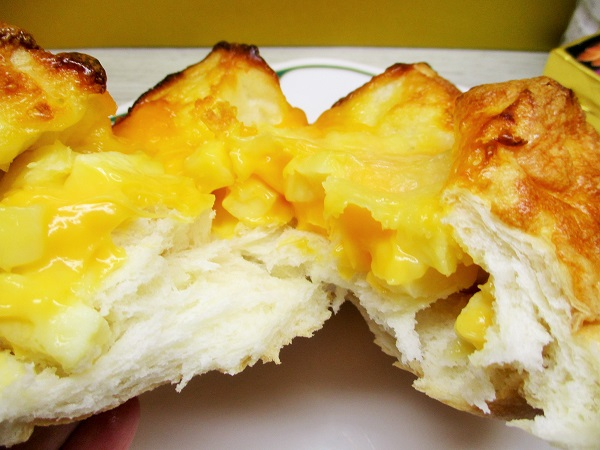 マルエツの焼きたてパン とろりんチーズブレッド 429円(税込)→半額→215円(税込)