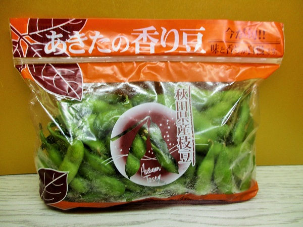 あきたの香り豆 秋田県産枝豆 OKで購入。