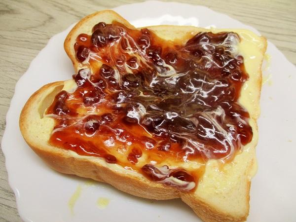 あんバタートーストにしました〜♪