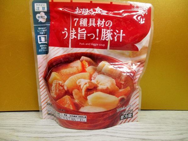 お母さん食堂 7種具材のうま旨っ!豚汁 220g/227kcal/213円(税込)