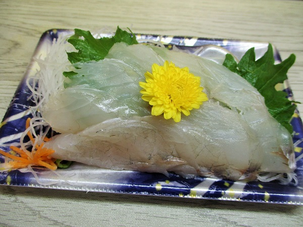 千葉県産 こち 410円(税込) ローゼンで購入。