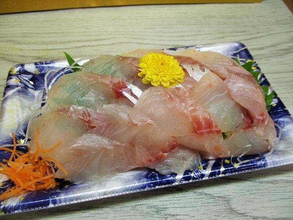 神奈川県産 ほうぼう 523円(税込) ローゼンで購入。