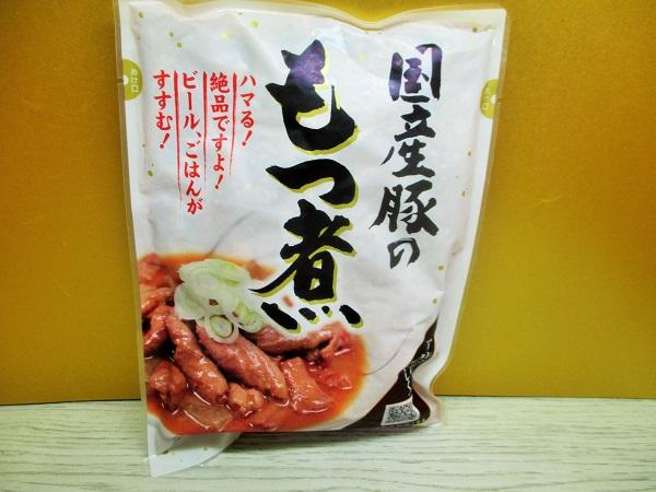 関越部産 国産豚のもつ煮 350g/270円(税込) ロピアで購入。