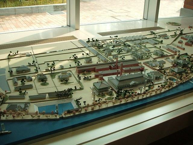 創建当初の造幣局模型