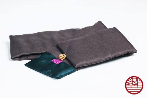 マフラー Silk gray+green商品