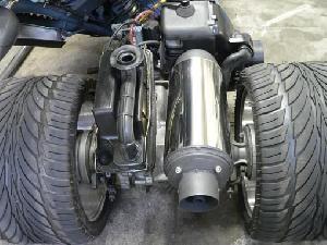 モトリペア MRFマフラー68S ジャイロ